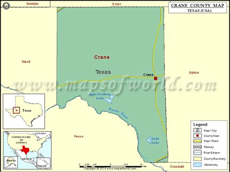 crane texas map crane county map map of crane county texas