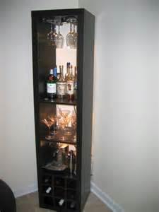 Wine Storage Credenza Expedit Wine Rack And Bar Ikea Hackers Ikea Hackers