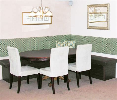 Booth Style Dining Room Sets sitzbank f 252 rs esszimmer selber bauen 20 ideen anleitung