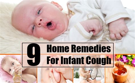 9 home remedies for infant cough treatments