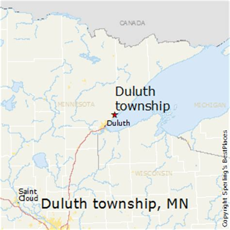 zip code map duluth mn best places to live in duluth township minnesota