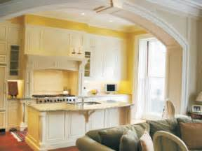 Yellow Kitchen Cabinets by Yellow Kitchen Walls With White Cabinets Images