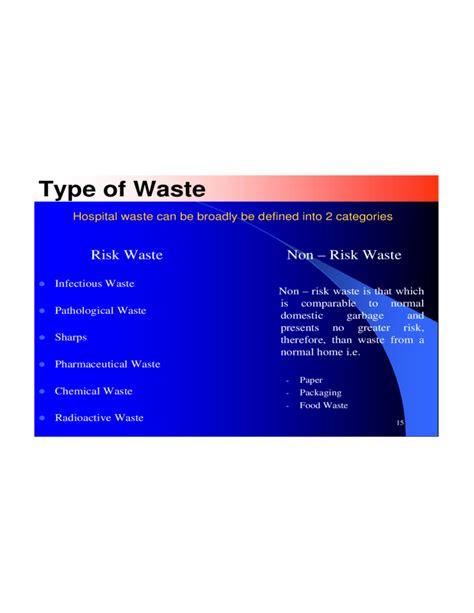 Waste Management Ppt Free Hospital Waste Management Ppt Free Download