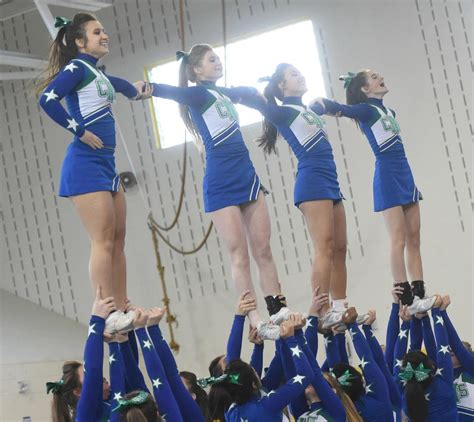 section 3 cheerleading west genesee c ns among section iii teams in state cheer