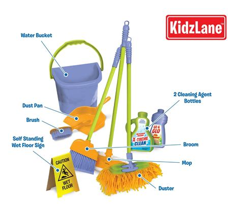 cleaning meaning cleaning set w pretend play broom for preschoolers toddler children ebay