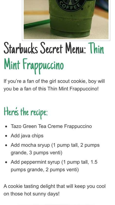 secret menu starbucks starbucks secret menu food