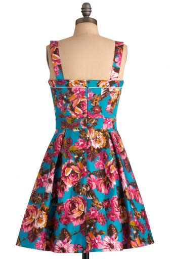 Dress Florentina Xl 50s florentina floral turquoise dress bash
