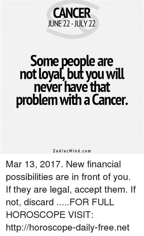 Cancer Horoscope Memes - 25 best memes about cancer zodiac cancer zodiac memes