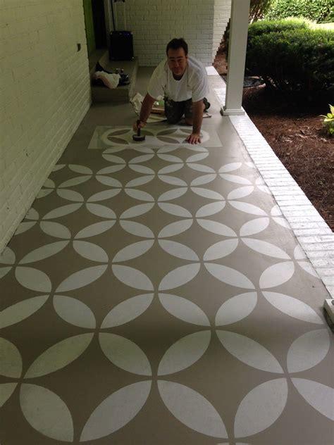 Concrete Patio Floor Paint Ideas   yard   Pinterest