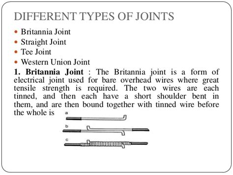 types of electrical wire joints basics of electrical engineering