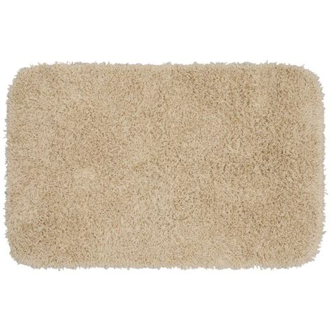 Garland Rug Jazz Linen 24 In X 40 In Washable Bathroom Washable Rugs