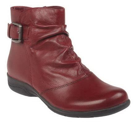 clarks bendables chris sydney leather ankle boots w buckle