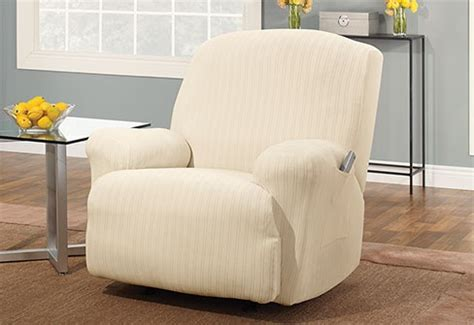 recliner slipcovers white pin by sure fit inc on white decor pinterest