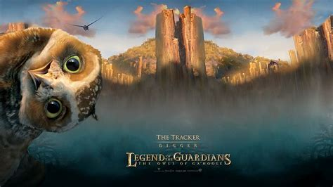 film cartoon owl the tracker digger legend of the guardians the owls of