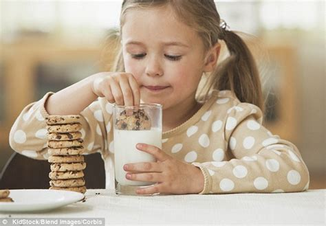 eating chocolate before bed could milk and cookies make your child ill doctor fears