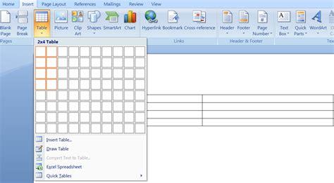 membuat tabel menu html cara membuat tabel di posting blog dengan ms word super
