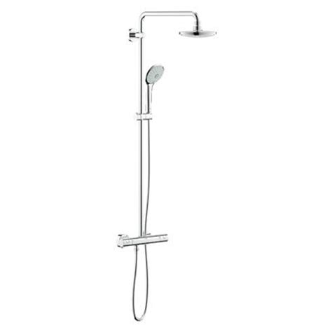 colonne doccia grohe colonna doccia con miscelatore termostatico esterno