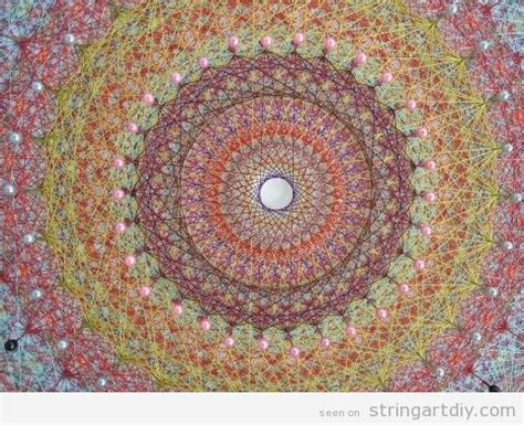 String Mandala - mandala string string diy free patterns and