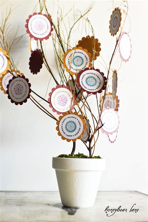 Paris Home Decor thanksgiving craft thankful tree honeybear lane