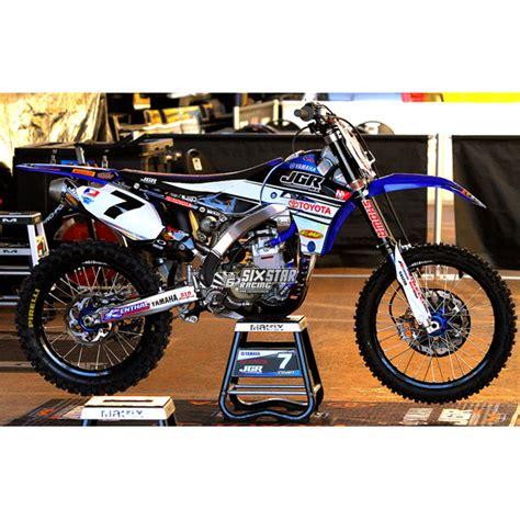 jgr racing n style yamaha yzf250 yzf450 joe gibbs racing graphic kit