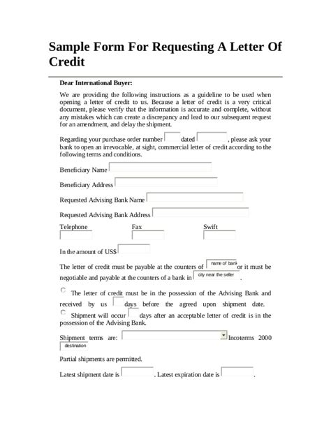 Credit Transfer Template Chapter Two Bank And Custom Clearance Operation Out
