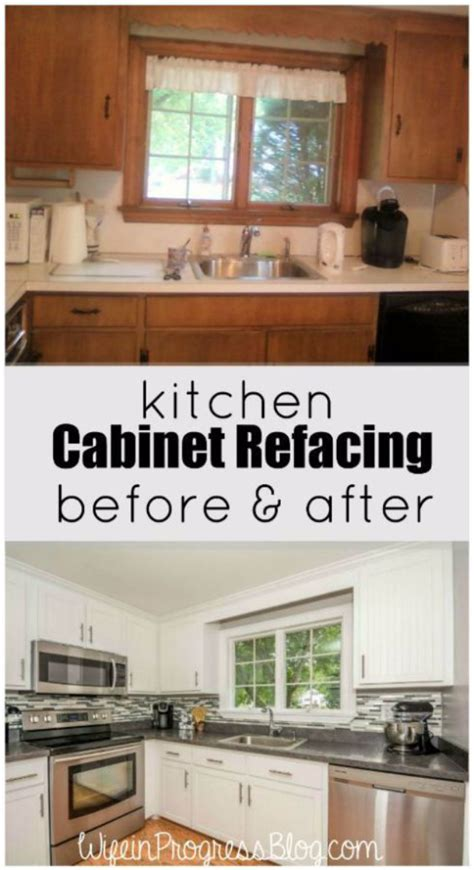 diy refacing kitchen cabinets ideas 37 brilliant diy kitchen makeover ideas