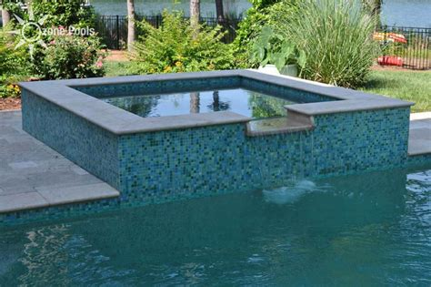 pool and spa designs rectangle pools with spas rectangular pool spa with