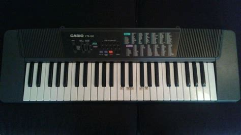 Keyboard Casio Ctk 100 Casio Keyboard Ctk 100 With 100 Tones And 100 Rhythms