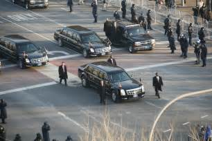 Car Used President Usa File Obama Cadillac Limousine In 2009 Inaugural Parade Jpg