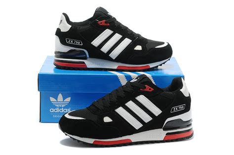 sale adidas zx 750 original running shoes blue black white low price o20d8673