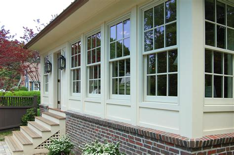 Back Porch Windows enclosed porch look home inspiration
