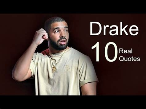 10 Lines From Drake S - drake 10 real life quotes on success inspiring