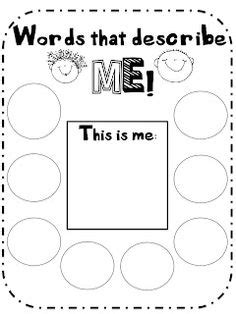 describe yourself pattern 1000 images about self esteem on pinterest worksheets