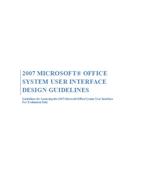 design guidelines user interface net elegant ribbon guidelines compliant