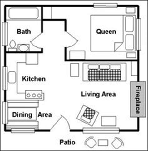 12 X 24 Cabin Floor Plans Google Search Cabin Coolness Cottage Plans With Loft Canada