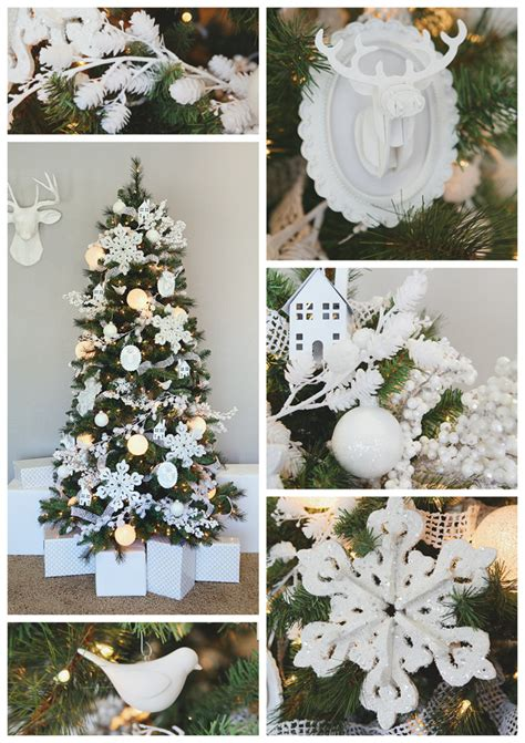 white christmas dream tree ornaments eighteen25