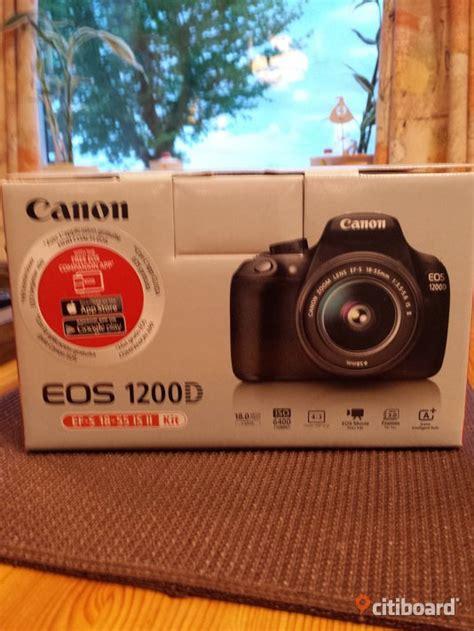 Kamera Canon 1200d Eos system kamera canon eos 1200d varberg citiboard