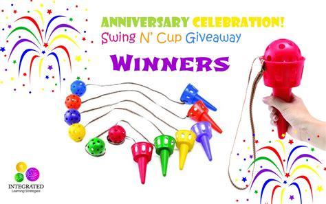 Giveaway Scoop - swing n scoop cup giveaway winners integrated learning strategies