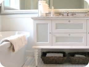 Fab Grey And White Bathroom Vanities With Marble Top Also