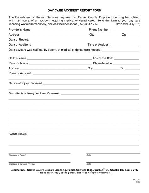 health and safety forms templates best photos of safety incident report form template
