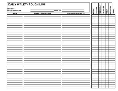 daily construction log template 28 daily construction log template daily log of work