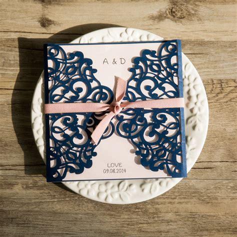 Hochzeitseinladung Blau by Traumhafte Einladungskarten Zur Hochzeit丨hochzeitsdekos