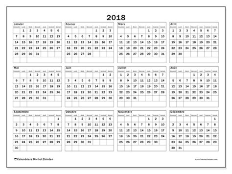 Calendrier Imprimable 2018 Calendriers 2018 Ds