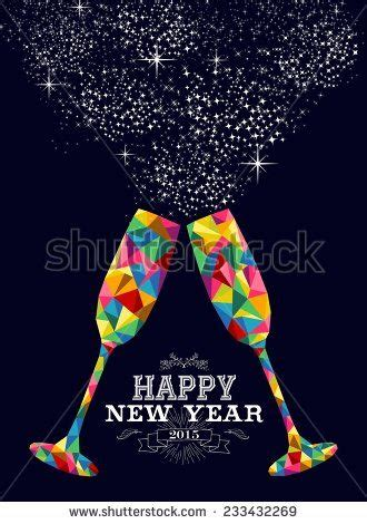 new year 2015 poster design happy new year 2015 greeting card or poster design with