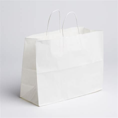 How To Make A Paper Shopping Bag - paper shopping bags white large a b store fixtures