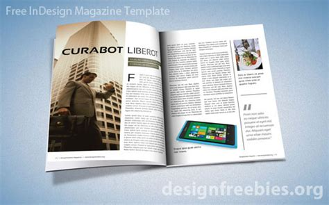 Free Exclusive Indesign Magazine Template V 2 Designfreebies Indesign Magazine Template