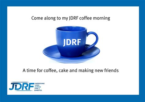 Downloads Jdrf Coffee Morning Invitations Templates