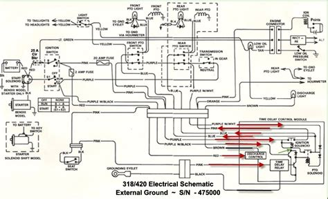 deere 318 wiring diagram wiring diagram and