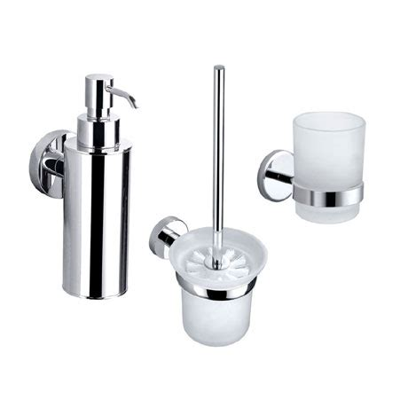 Orion Bathroom Accessories Set Available Now At Chrome Bathroom Accessories Set