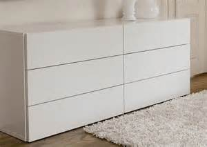 Modern Bedroom Dressers And Chests 6 Drawer White Dresser Modern Dressers By